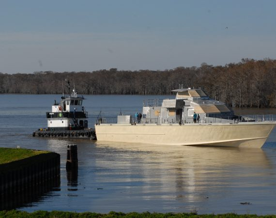 Fast Patrol Vessel Delivery
